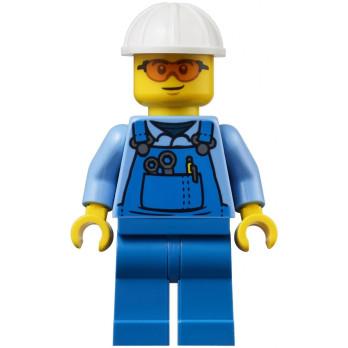 Mini Figurine LEGO® City - Ouvrier