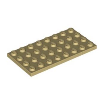 LEGO 4509897 PLATE 4X8 - TAN