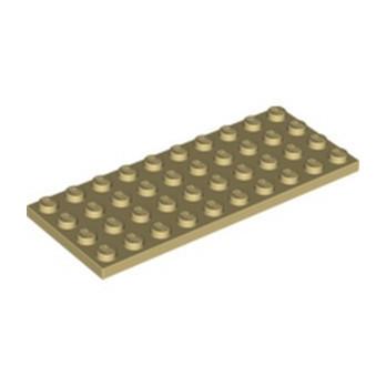 LEGO 6037834 PLATE 4X10 - TAN