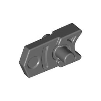 LEGO 6051334 TRIGGER FOR MINI SHOOTER - DARK STONE GREY