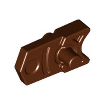 LEGO 6114374 TRIGGER FOR MINI SHOOTER - REDDISH BROWN