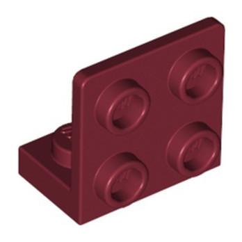 LEGO 6335330 ANGULAR PLATE 1.5 BOT. 1X2 22 - NEW DARK RED
