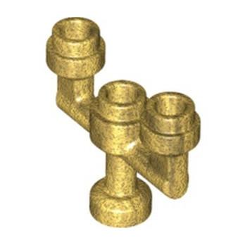 LEGO 6326425 CANDLESTICK - WARM GOLD