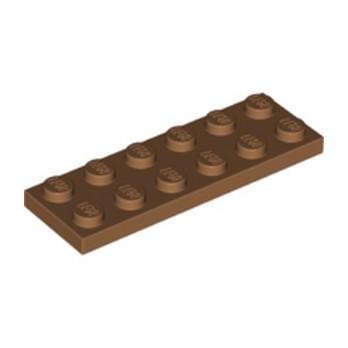 LEGO 6313600 PLATE 2X6 - MEDIUM NOUGAT