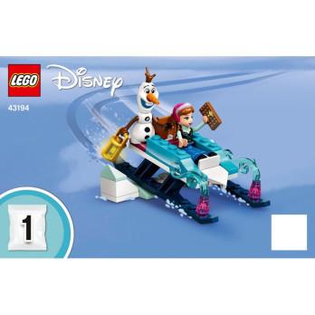 Instruction Lego Disney 43194