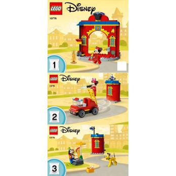 Instruction Lego Disney 10776
