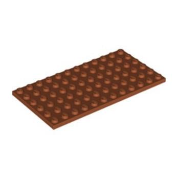 LEGO 6310667 PLATE 6X12 - DARK ORANGE