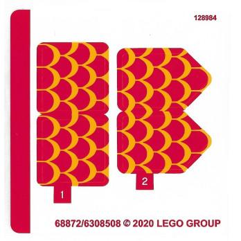 Stickers Lego® Minions - 75550
