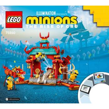 Instruction Lego Minions 75550
