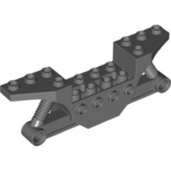 LEGO 6356277 VEHICLE FRAME, W/4.85 HOLE - DARK STONE GREY