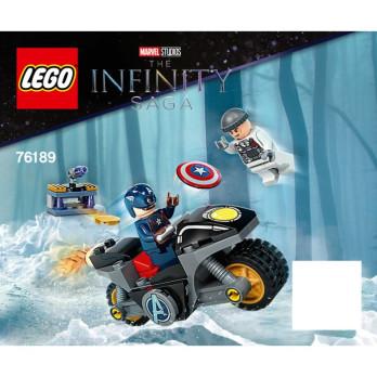 Instruction Lego Super Heroes 76189