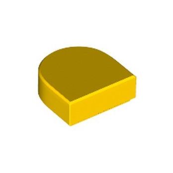 LEGO 6300104 FLAT TILE 1x1 ½ - YELLOW