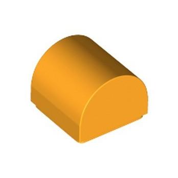 LEGO 6341470 DOME 1X1X2/3 - FLAME YELLOWISH ORANGE