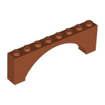 LEGO 6325919 ARCH 1X8X2 - DARK ORANGE