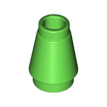 LEGO 6331100 CONE SMALL 1X1 - BRIGHT GREEN
