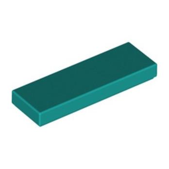 LEGO 6213787 PLATE LISSE 1X3 - BRIGHT BLUEGREEN