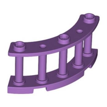 LEGO 6347660 FENCE 4X4X2 - MEDIUM LAVENDER