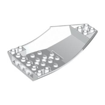 LEGO 6345205 SHELL 6X10X2 INV. - WHITE