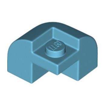 LEGO 6345199 BRICK W/ BOW 2X2X1 1/3 - MEDIUM AZUR