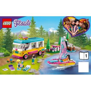 Instruction Lego Friends 41681