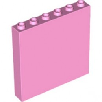 LEGO 6348273 WALL ELEMENT 1X6X5 - BRIGHT PINK