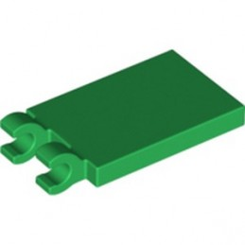 LEGO 6344310 - PLATE 2X3 W. HOLDER - DARK GREEN