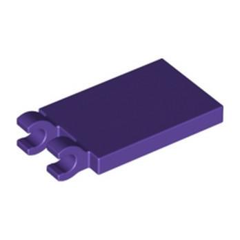 LEGO 6343615 - PLATE 2X3 W. HOLDER - MEDIUM LILAC