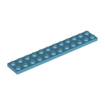 LEGO 6344748 PLATE 2X12 - MEDIUM AZUR