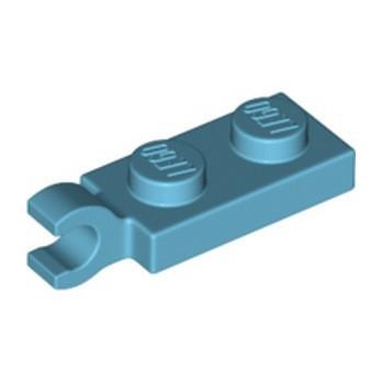 LEGO 6354660 PLATE 2X1 W/HOLDER,VERTICAL - MEDIUM AZUR