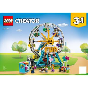 Instruction Lego Creator 31119