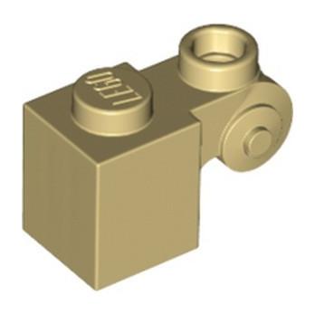 LEGO 6114992 DESIGN BRICK 1X1X2 - TAN