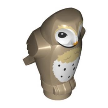 LEGO 6353937 OWL - SAND YELLOW
