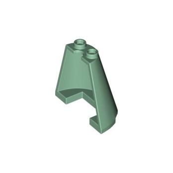 LEGO 6351382 1/2 CONE 2X4X3 - SAND GREEN