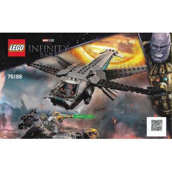 Instructions Lego® Marvel - 76186