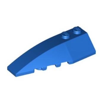 LEGO 6336561 LEFT SHELL 2X6 W/BOW/ANGLE - BLUE