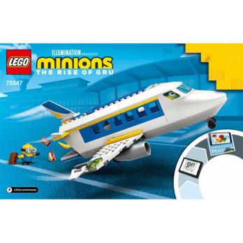 Instruction Lego Minions 75547