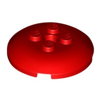 LEGO 6317537 SPHERE 4X4, W/ KNOBS - RED
