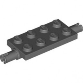 LEGO 6351293 WHEEL SUSPENSION 2X4 W/ PIN - DARK STONE GREY