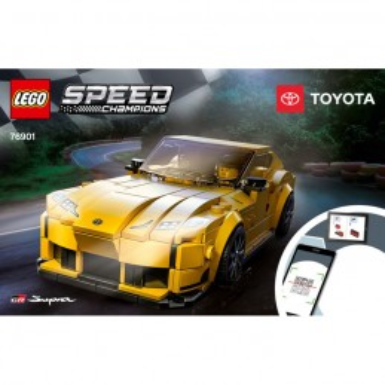 Instruction Lego® Speed Champions 76901