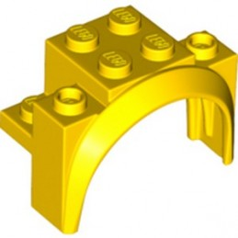 LEGO 6329866 BRICK W/ ARCH 2X4X2 1/3 - YELLOW