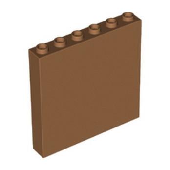 LEGO 6313598 WALL 1X6X5 - MEDIUM NOUGAT
