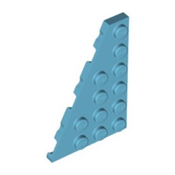 LEGO 6342565 LEFT PLATE 4X6 27° - MEDIUM AZUR
