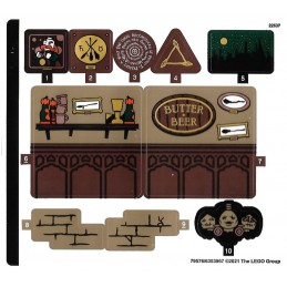 Stickers Lego Harry Potter 76388-2