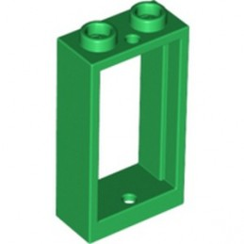 LEGO 6324206 FRAME 1X2X3 - DARK GREEN