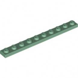 LEGO 6328184 PLATE 1X10 - SAND GREEN