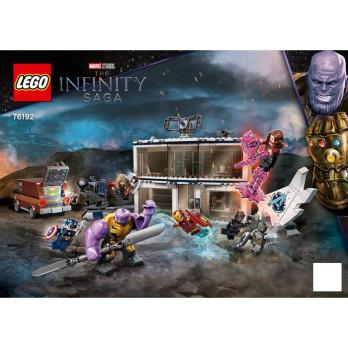 Instructions Lego® Marvel - 76192