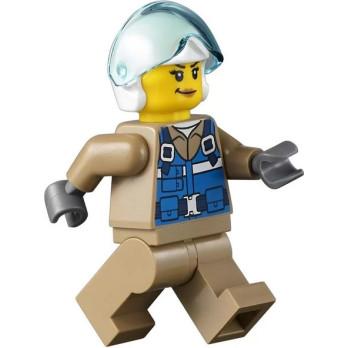 Mini Figurine LEGO® City - Helicopter Pilot