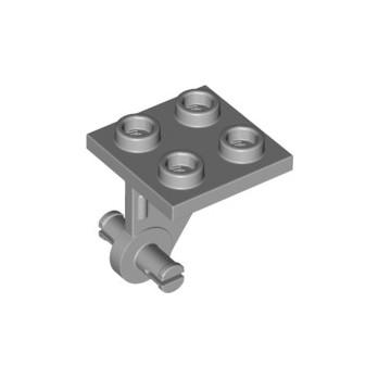 LEGO 6296797 WHEEL BEARING 2X2X 1/3 - MEDIUM STONE GREY