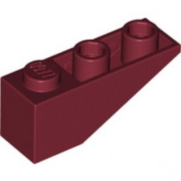 LEGO 6264024 ROOF TILE 1X3/25° INV. - NEW DARK RED