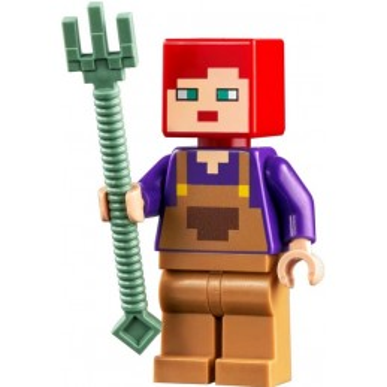 Minifigure LEGO® : Minecraft - Horse Rider